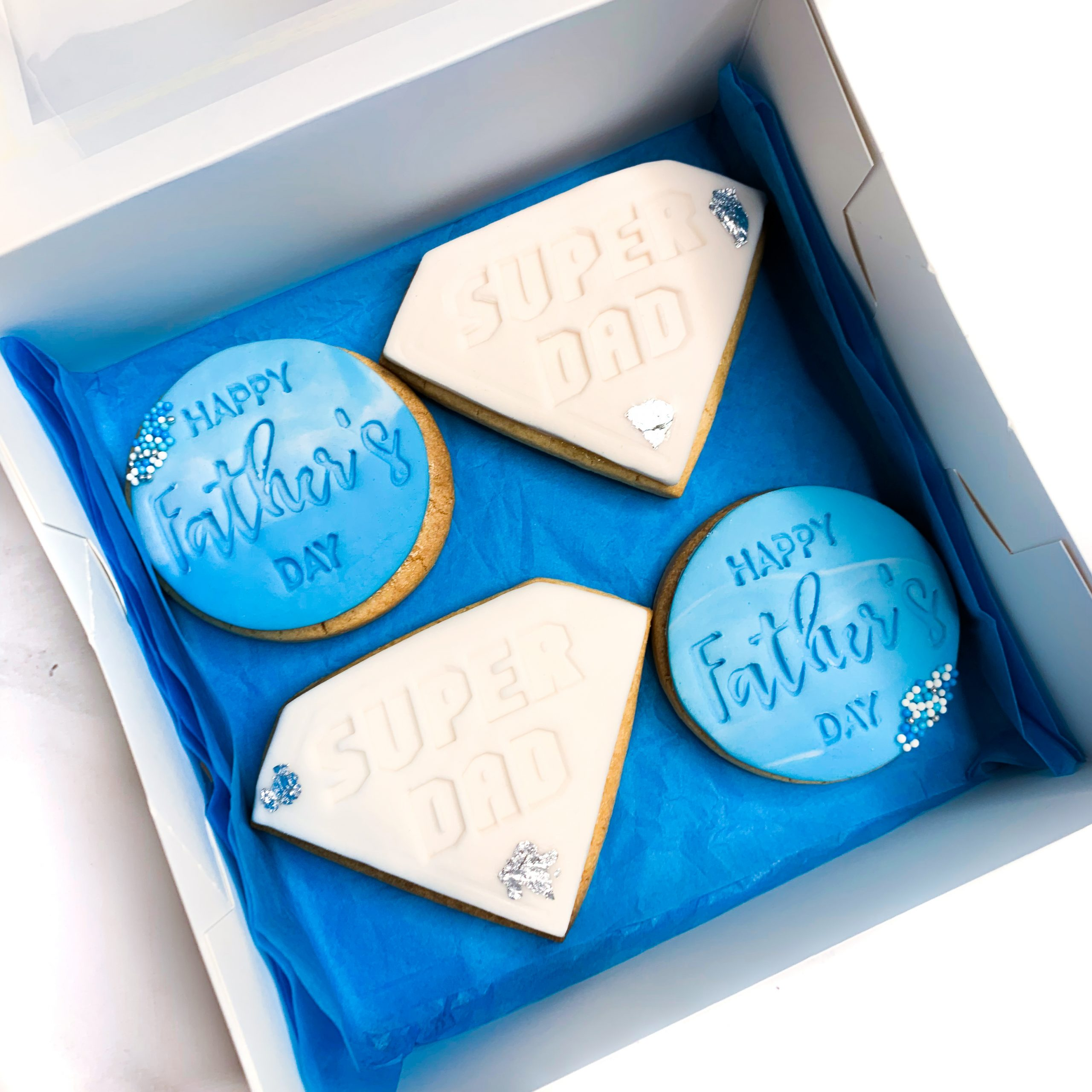 Father's Day Sugar Cookies