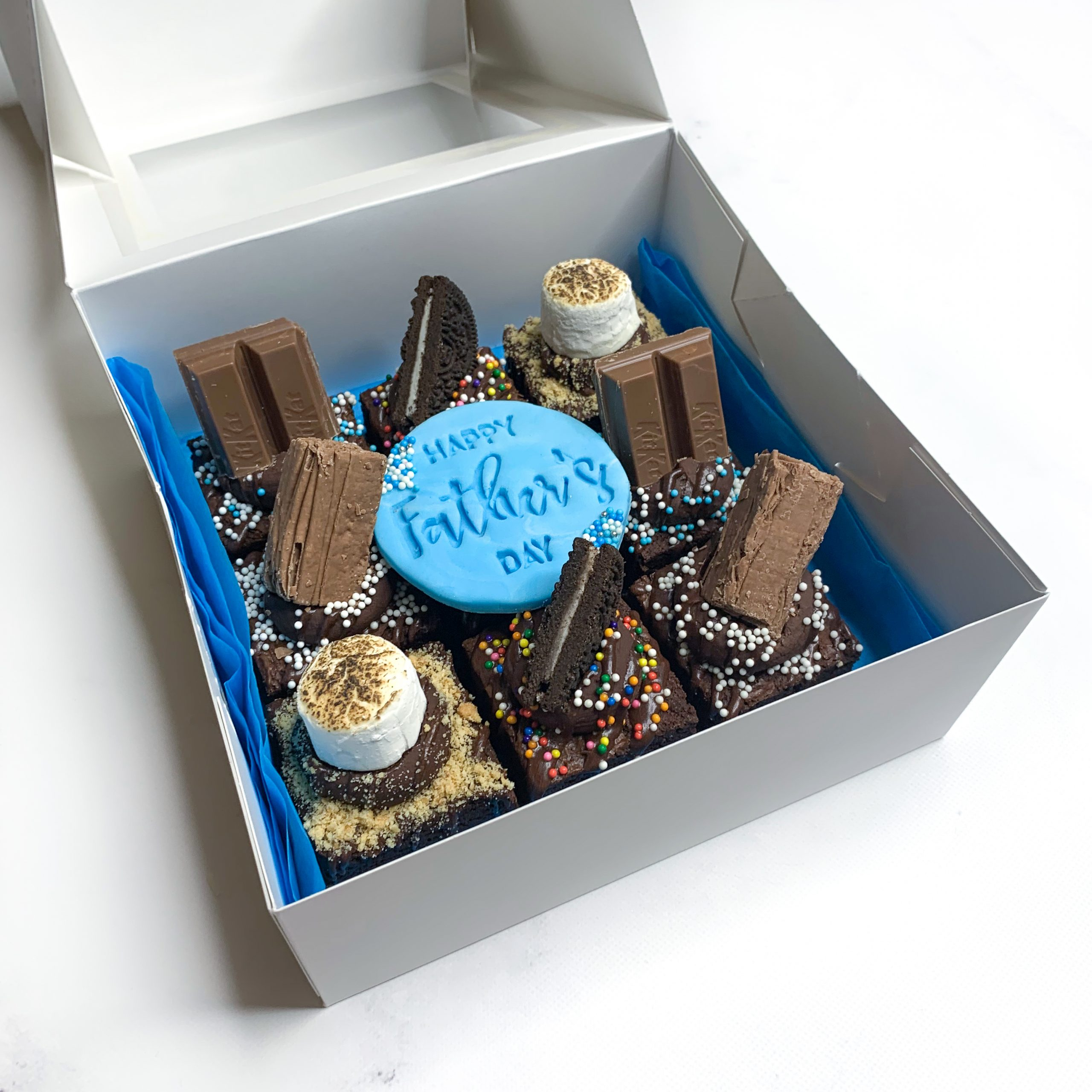 Father's Day Brownie Box